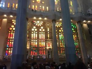Sagrada windows