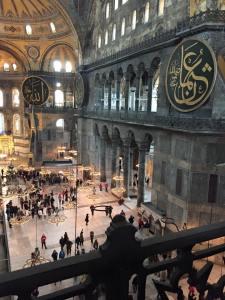 Hagia Sofia interior Istanbul