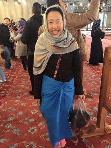 Head cover makedo skirt Istanbul