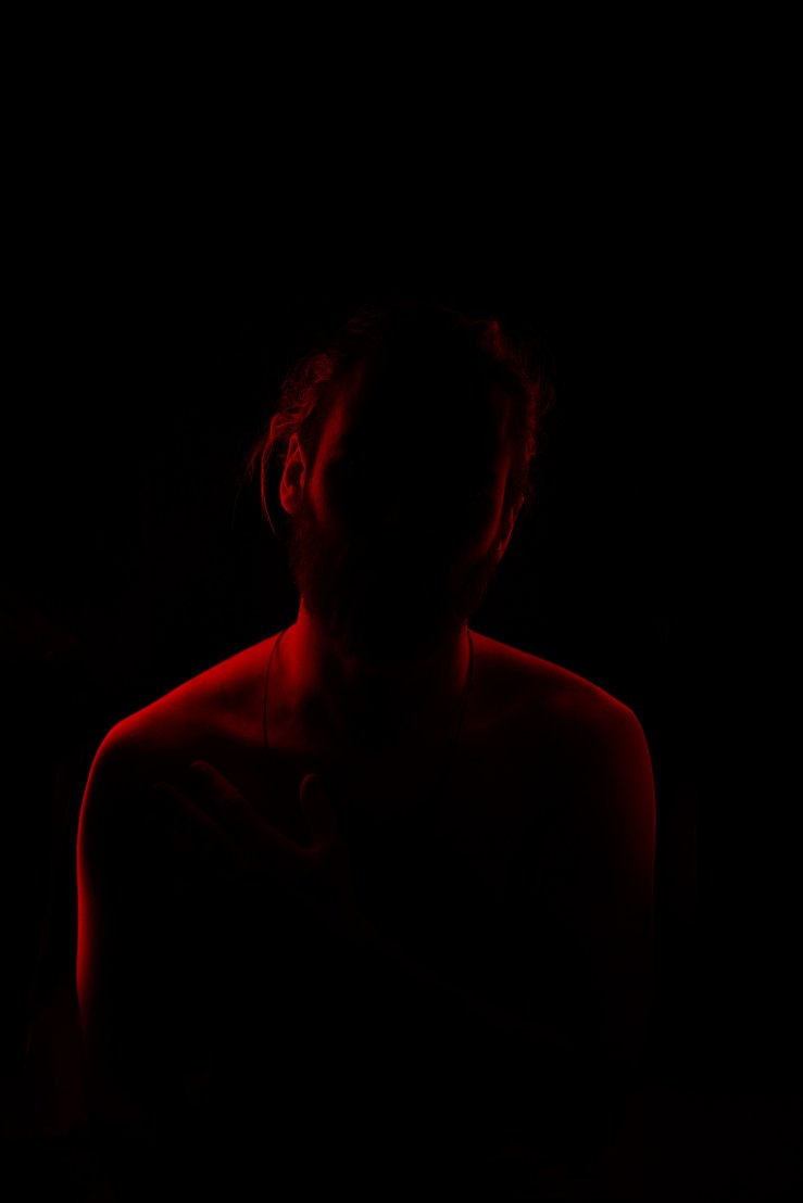 red light and body